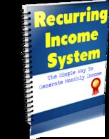Recurring Income System